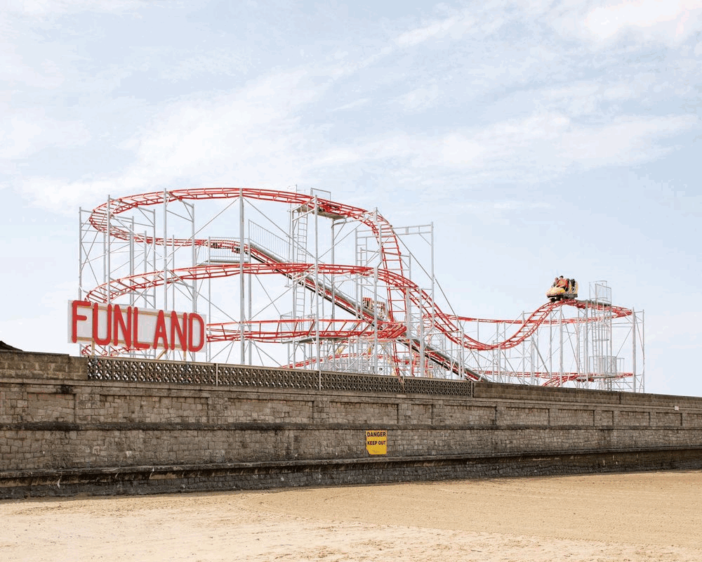 Rob Ball, Funland, Weston-Super-Mare, 2015