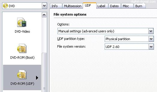 UDF FILE SYSTEM WINDOWS XP DRIVER