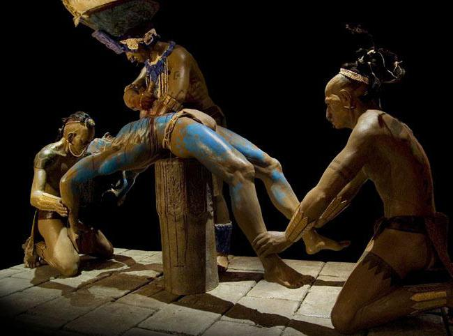 mayan sacrifice ceremony - 480×360